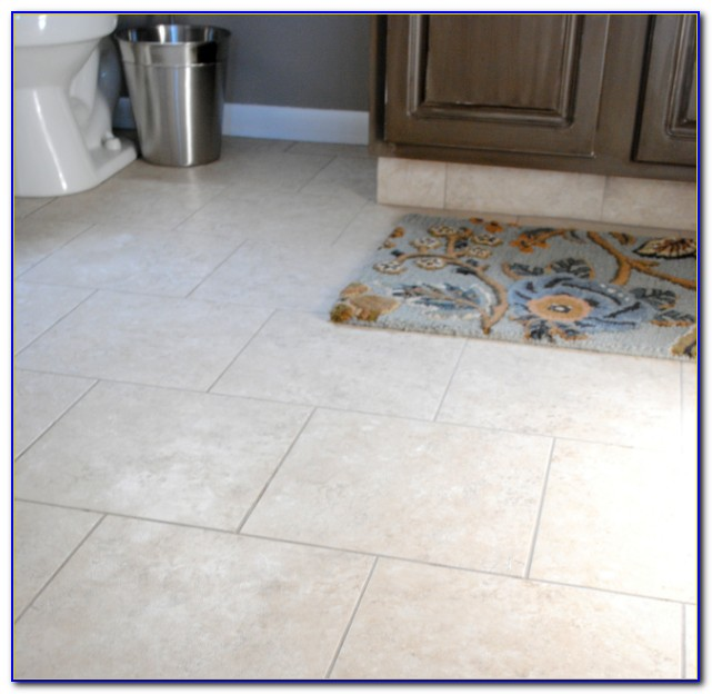 Installing Groutable Vinyl Floor Tiles
