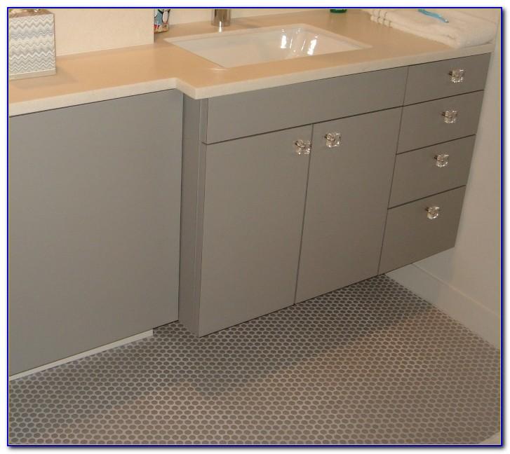 Installing Penny Round Floor Tile