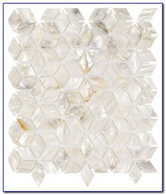 Jeffrey Court Harbor Bay Glass Mosaic Tile