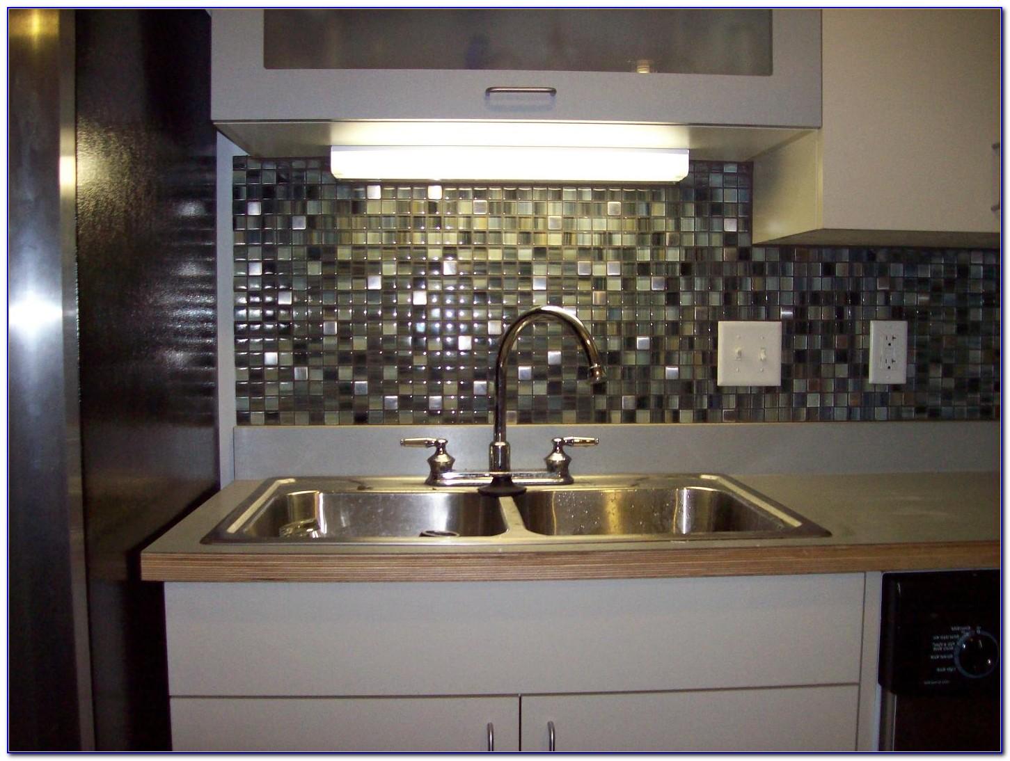 Kitchen Glass Tile Backsplash Photos