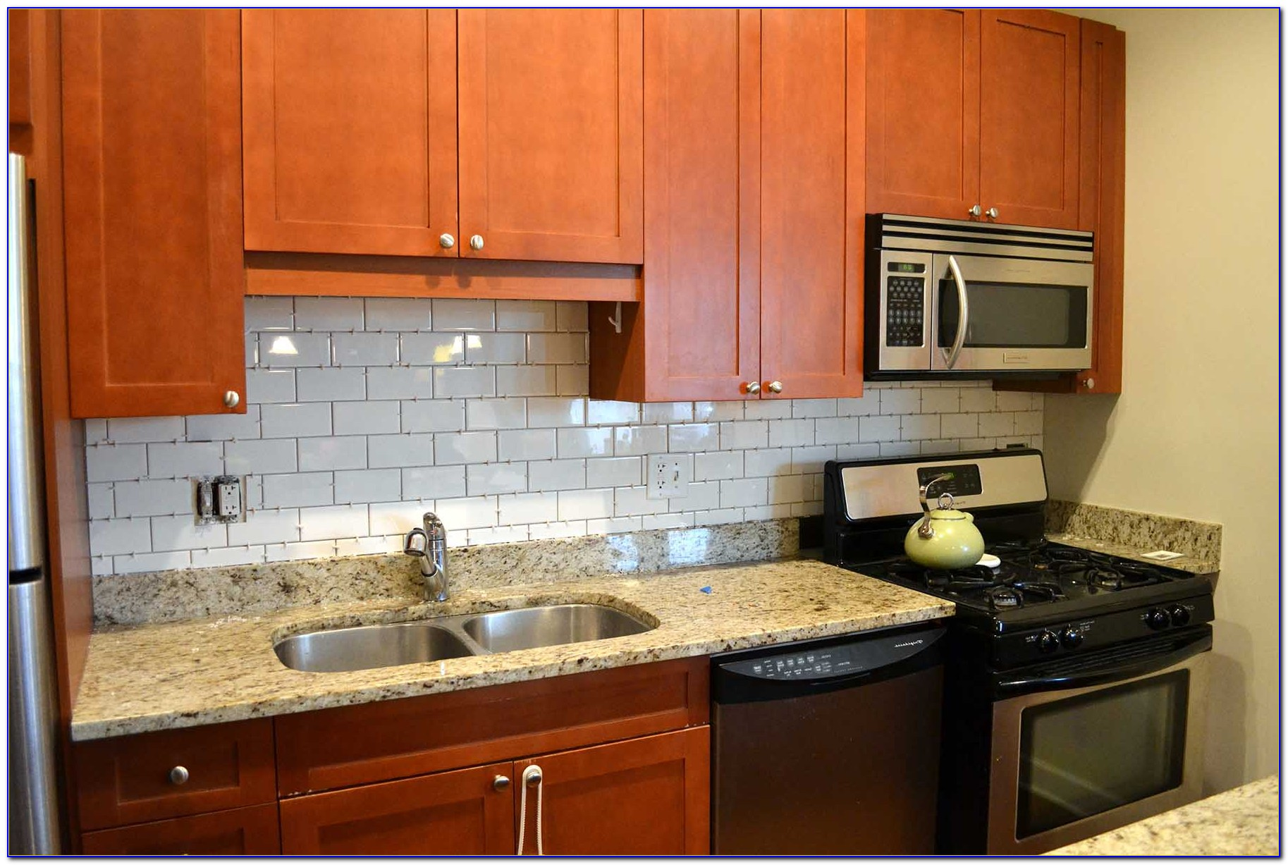 Kitchen Subway Tile Backsplash Houzz