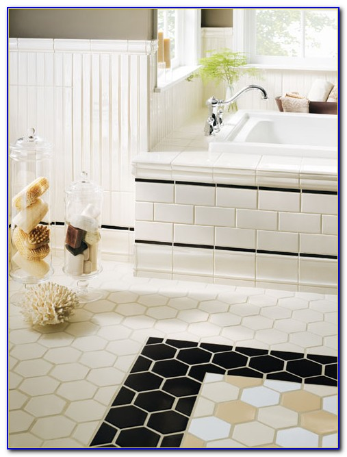 Large Hexagon Ceramic Tile