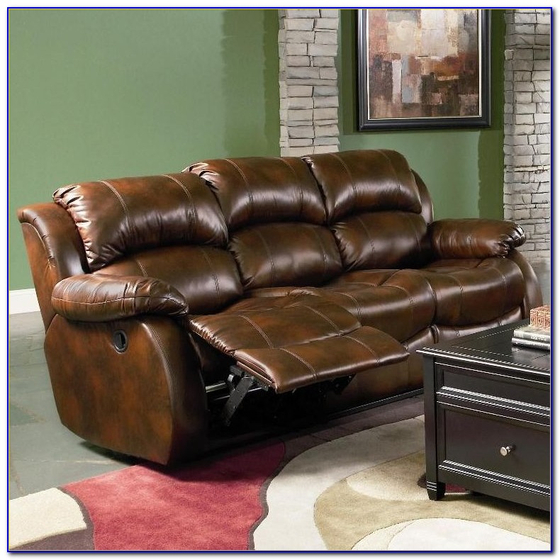 Leather Recliner Sofa Set Deals