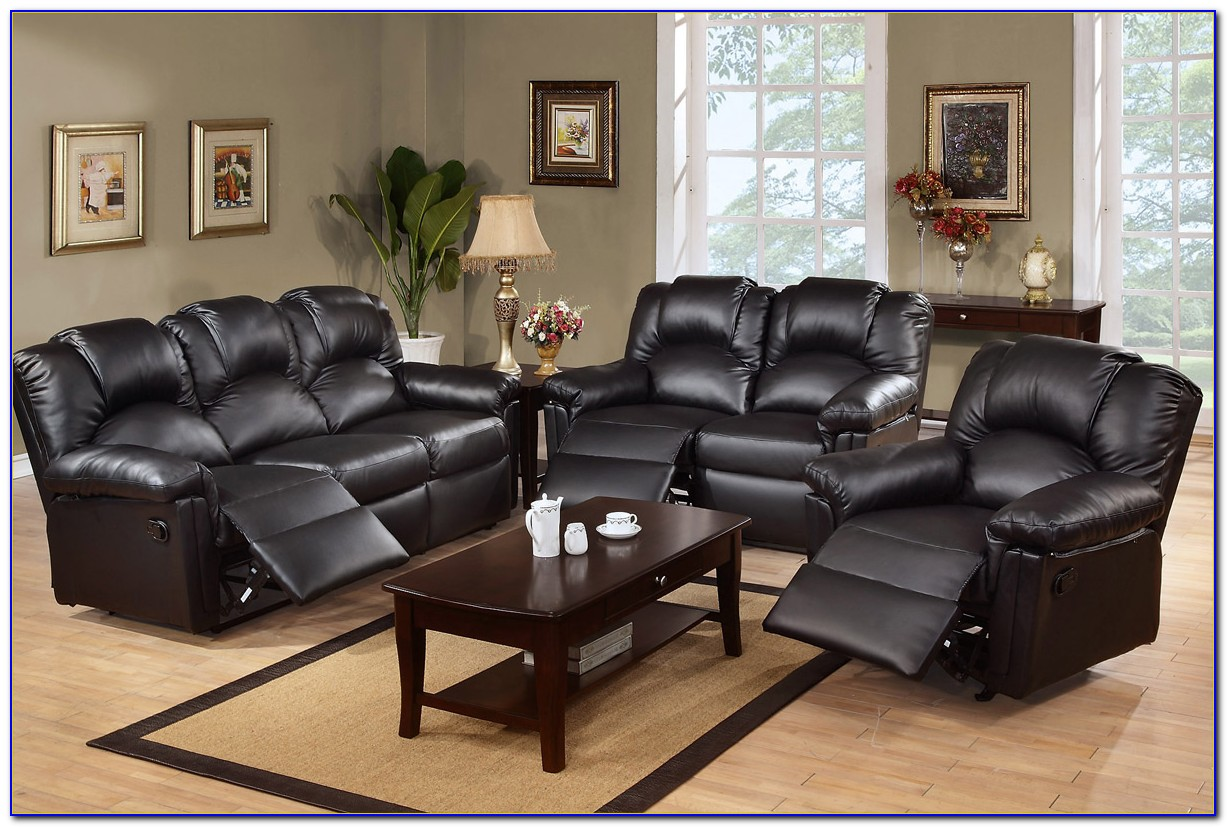 Leather Recliner Sofa Set Uk