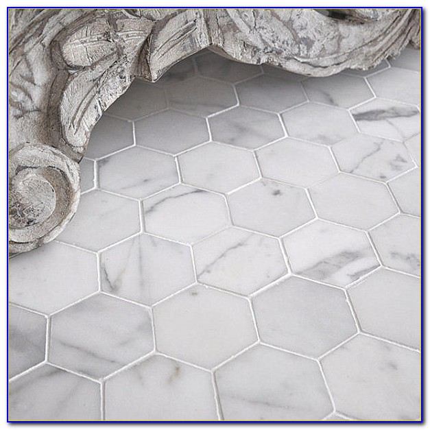 Marble Hexagon Floor Tile Amazon