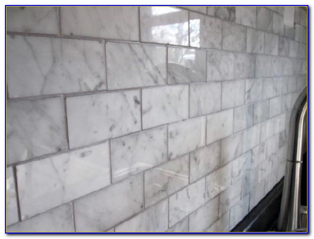 Marble Subway Tile Backsplash Pictures