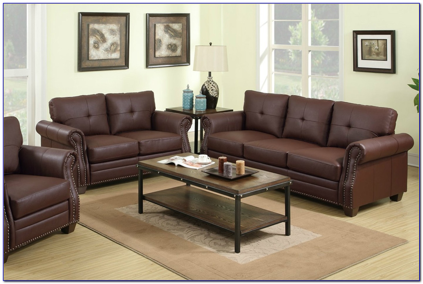 Modern Leather Sofas And Loveseats