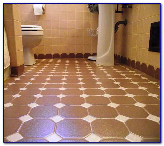 Octagon And Dot Ceramic Tile