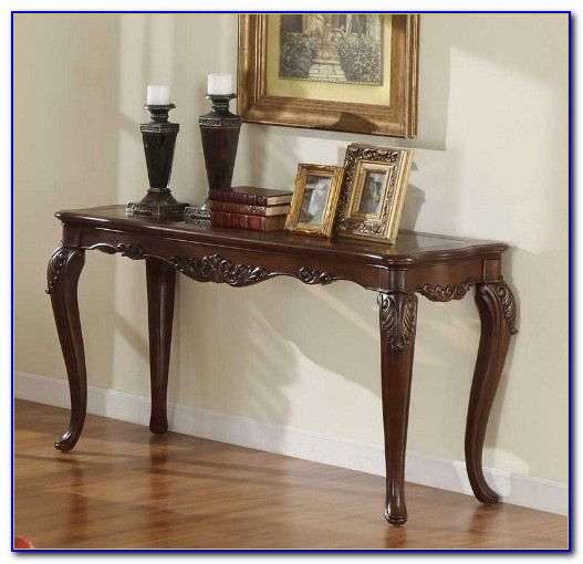 Painted Queen Anne Sofa Table