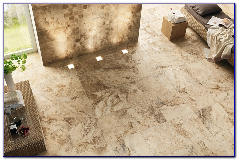 Porcelain Tile That Looks Like Chiseled Travertine
