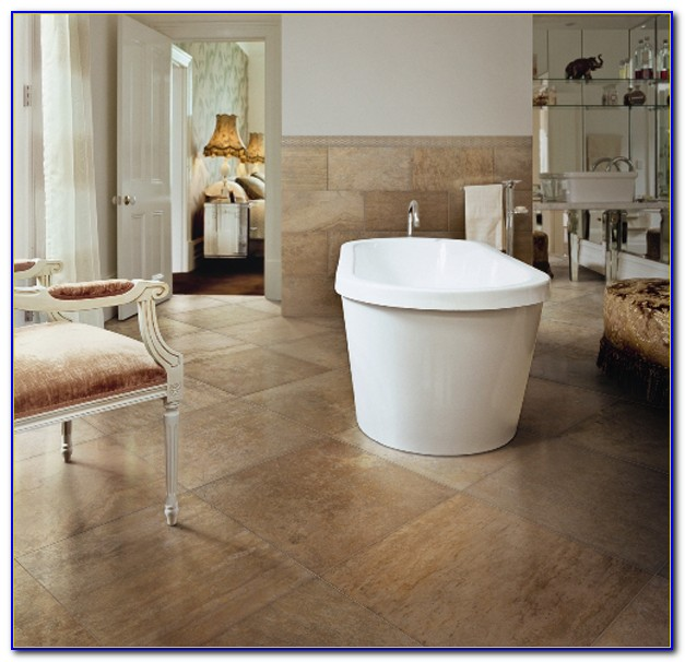 Porcelain Tile That Looks Like Honed Travertine