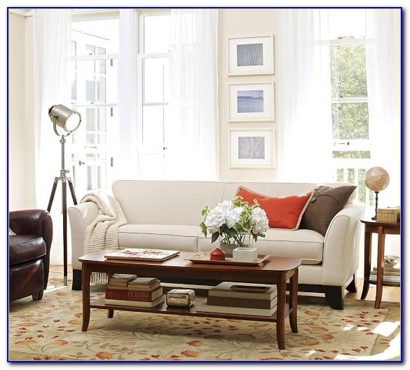 Pottery Barn Greenwich Upholstered Sofa