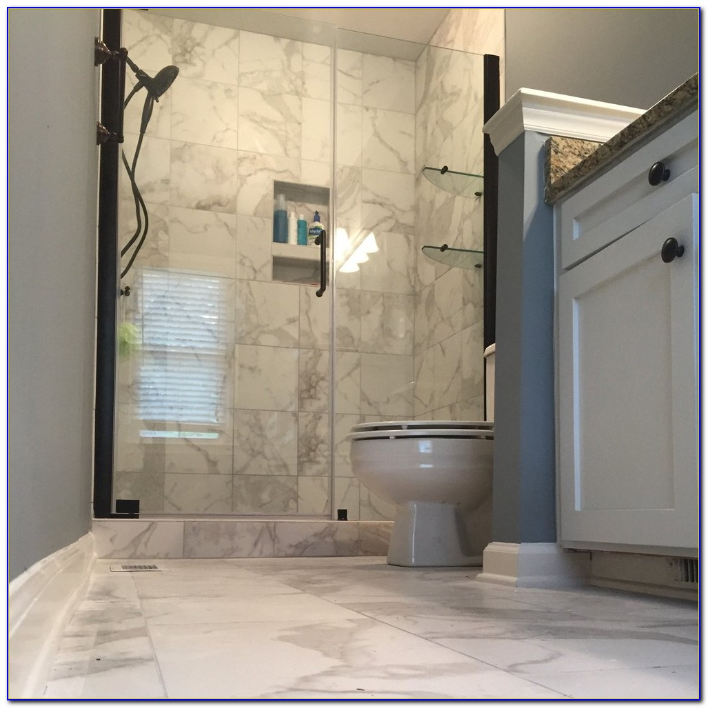 Rectified Porcelain Tile That Looks Like Marble