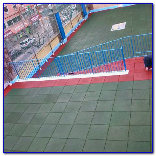 Rubber Safety Tiles For Playgrounds