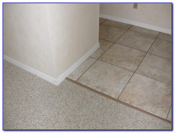 Rubber Transition Carpet To Tile