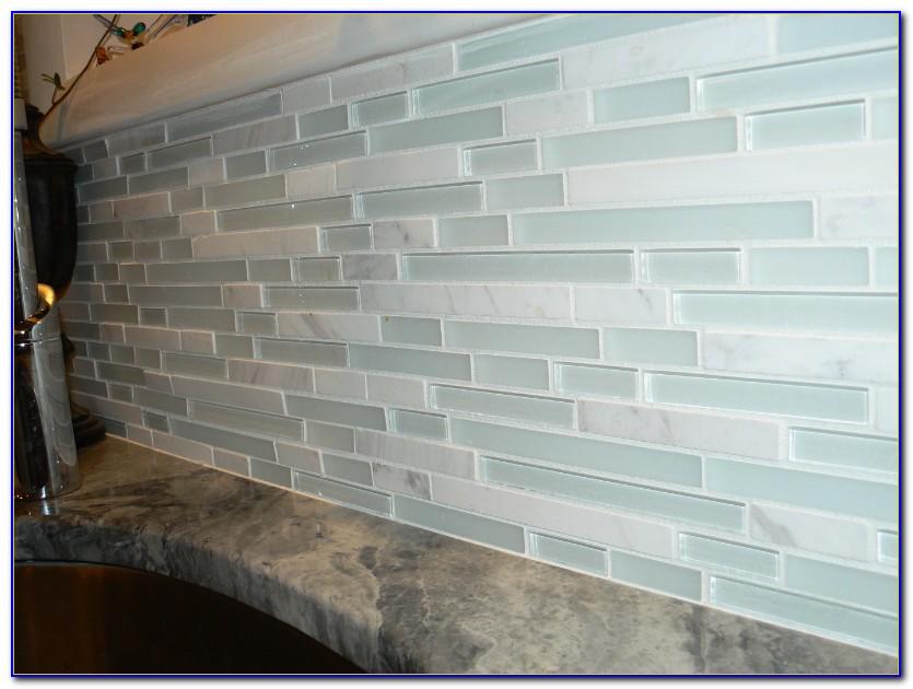 Sea Glass Tile Backsplash