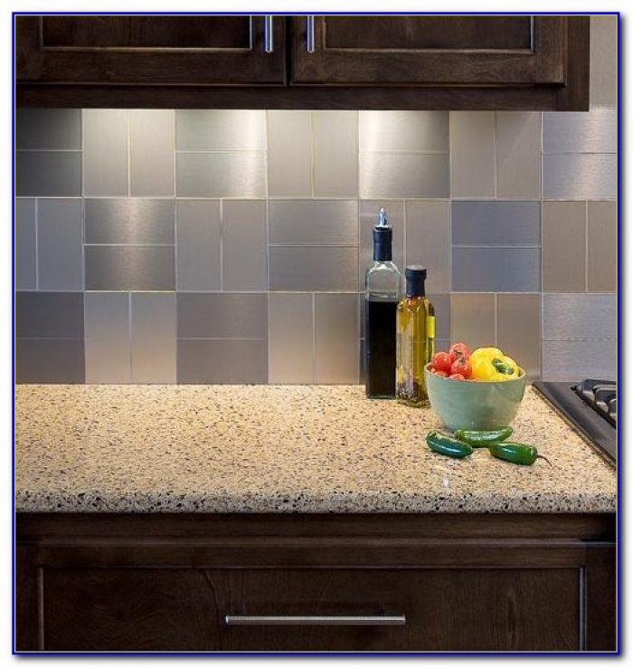Self Stick Vinyl Tile Backsplash