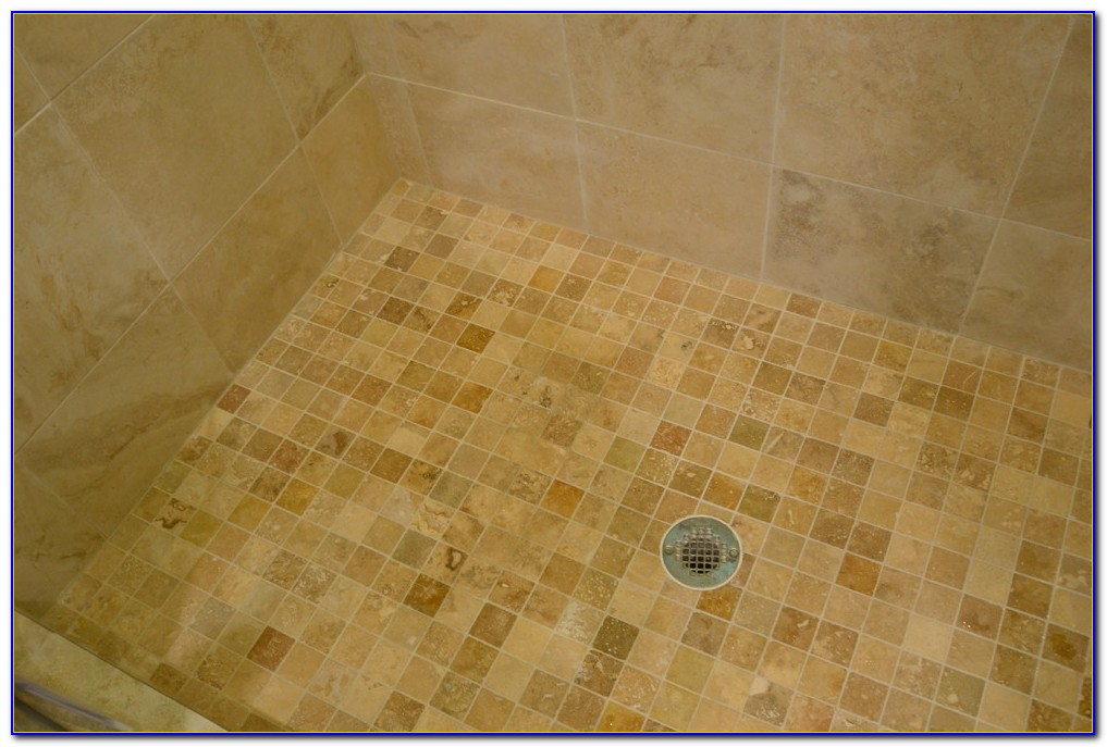 Silver Travertine Look Porcelain Tile