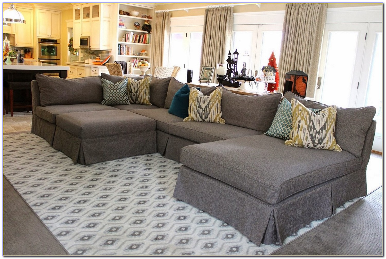 Slipcovers For Sofas With Attached Cushions