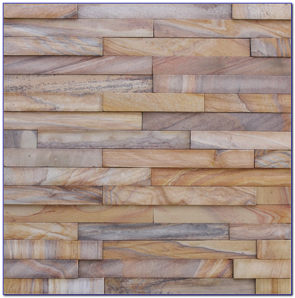 Stacked Slate Wall Tile