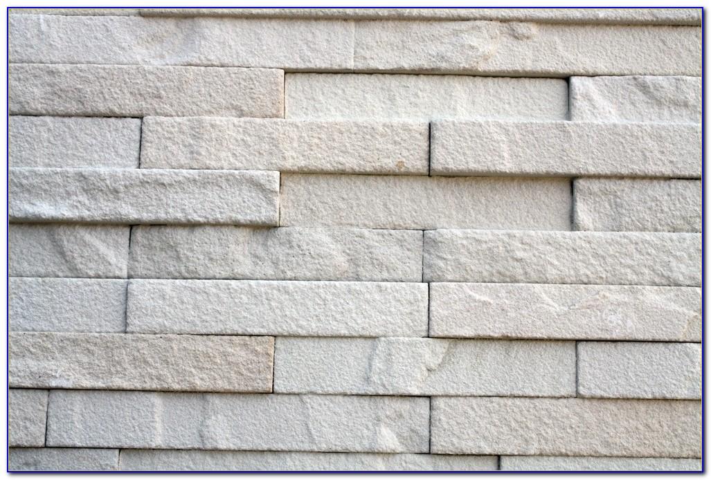Stacked Stone Bathroom Tile