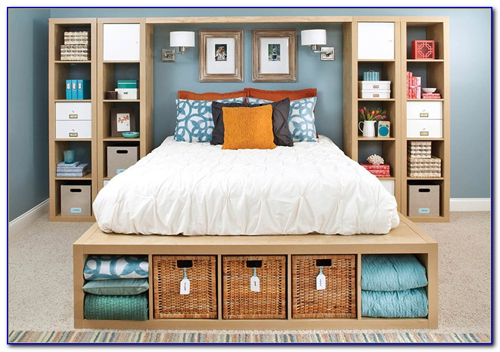 Storage Ideas For Small Bedrooms Uk