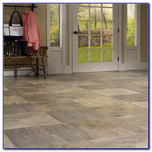 Tile Effect Laminate Flooring Bq