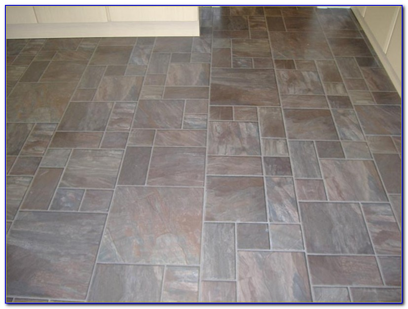 Tile Effect Laminate Flooring White