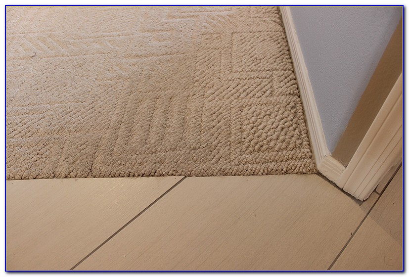 Tile To Carpet Transition Z Bar
