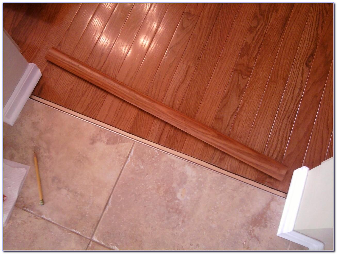Tile To Hardwood Transition Strip