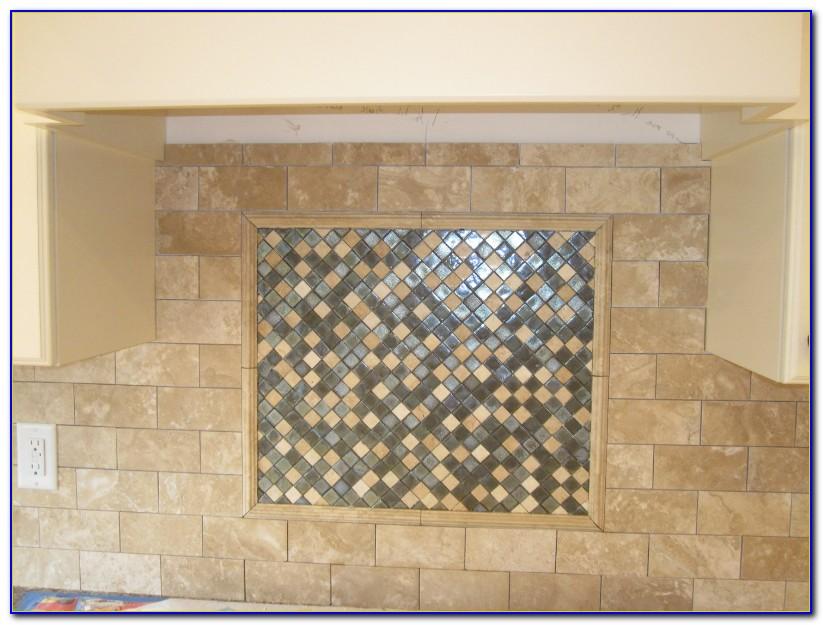 Tumbled Marble Tile Backsplash Pictures