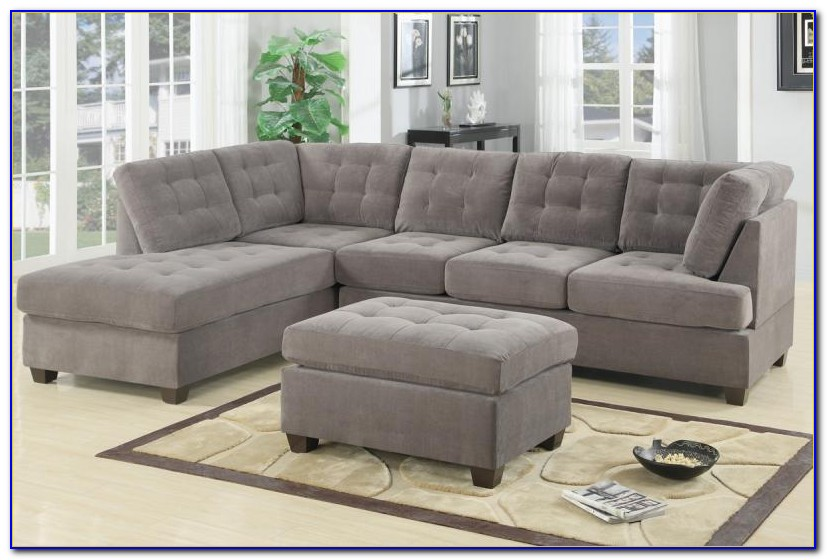 Venetian Worldwide Cranbrook Charcoal Gray Sectional Sofa