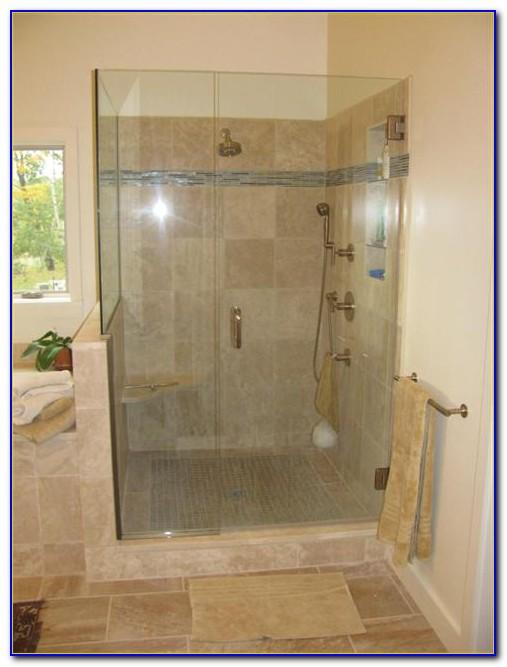 Walk In Tiled Showers No Doors
