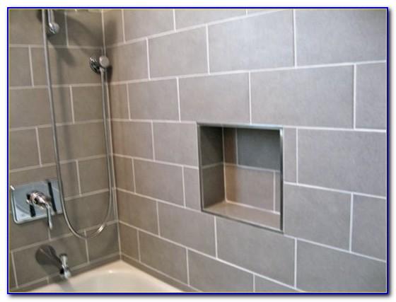 White Ceramic Tile Edge Trim