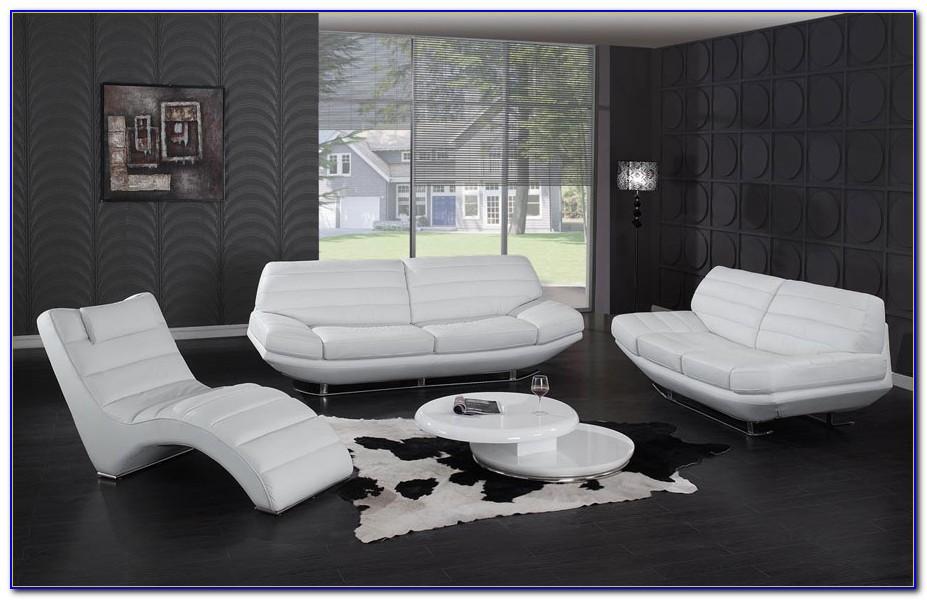 White Fabric Sofa And Loveseat
