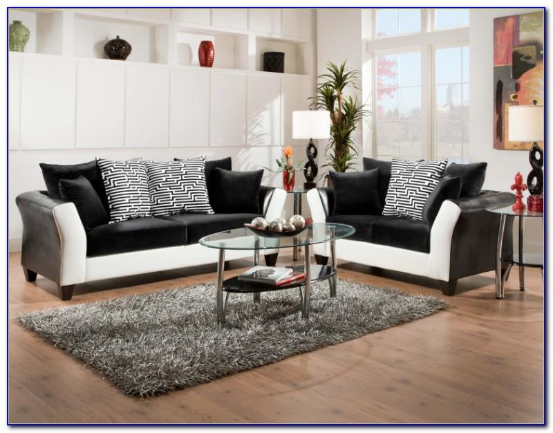 White Reclining Sofa And Loveseat