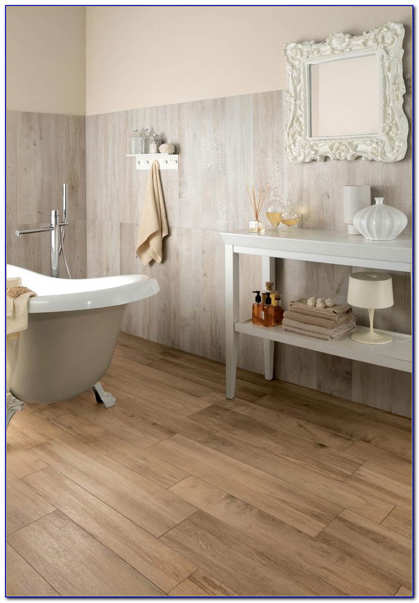 Wide Plank Wood Look Ceramic Tile