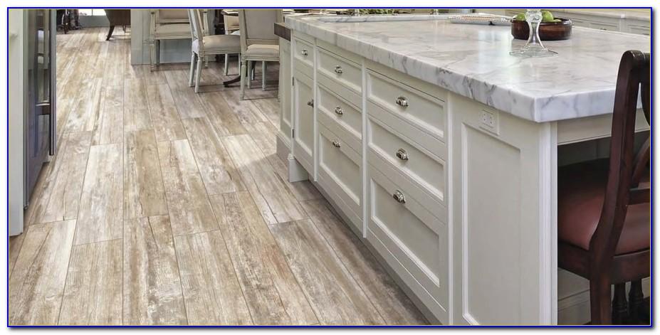 Wood Grain Ceramic Tile Gray