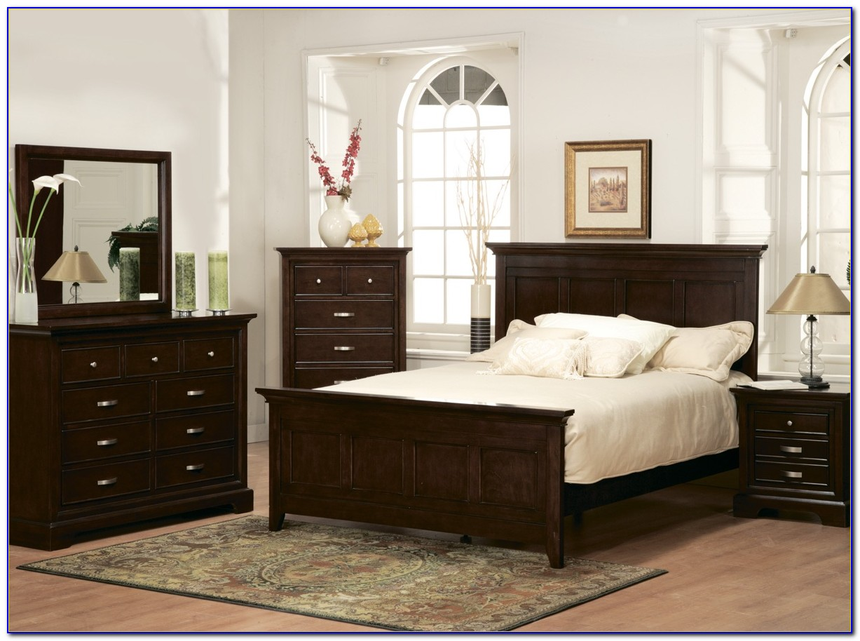 4 Piece Bedroom Furniture Set