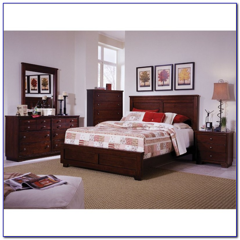 6 Piece King Size Bedroom Sets