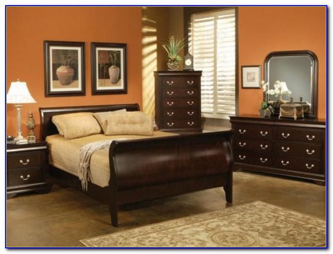 Antique Cherry Wood Bedroom Furniture