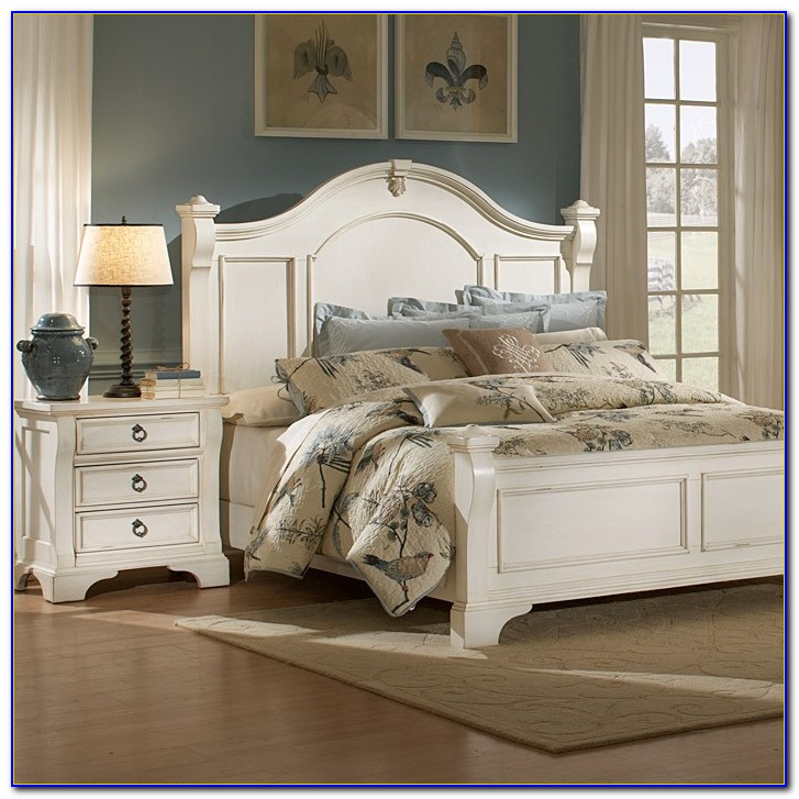 Antique White Bedroom Sets King