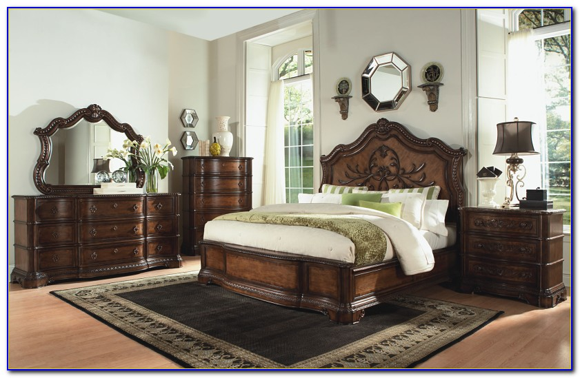 Art Furniture Old World 143 Estate Bedroom Set