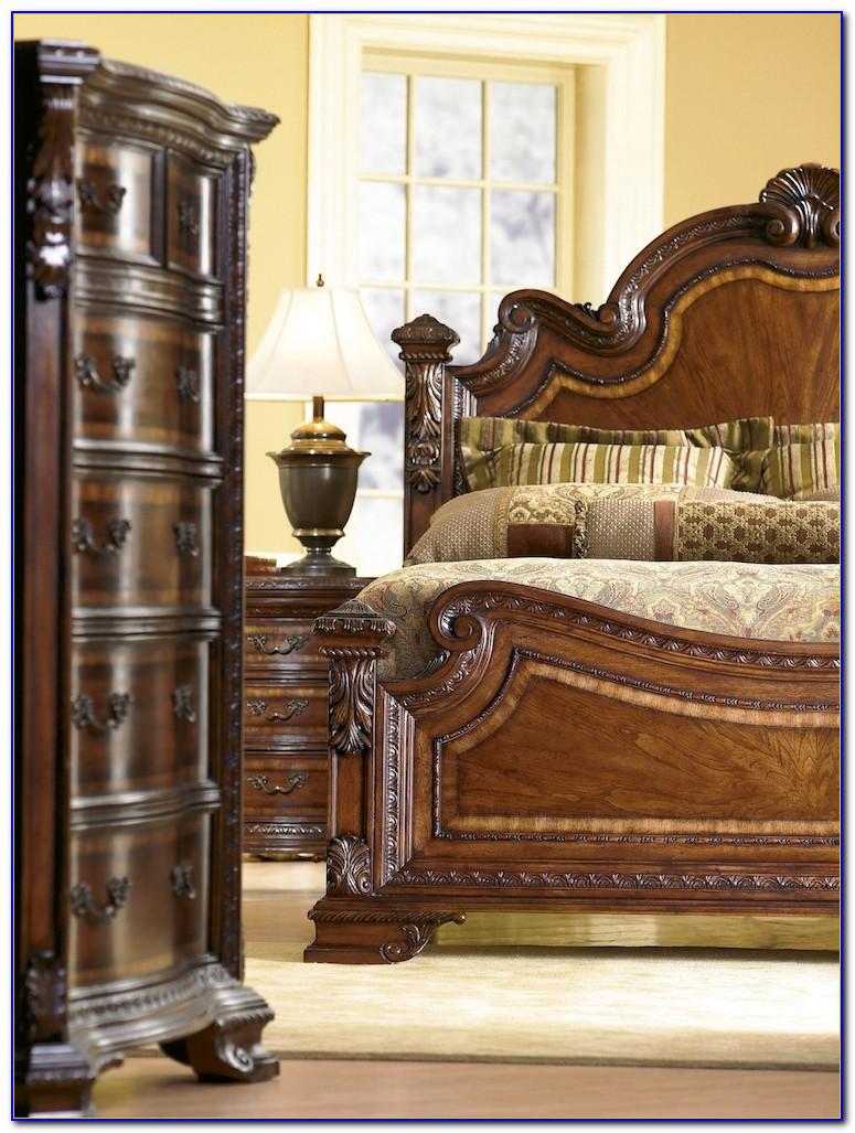 Art Old World Bedroom Set