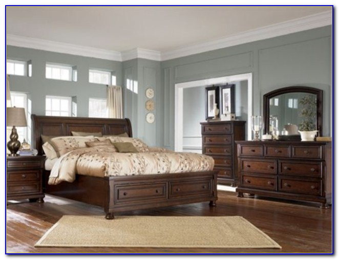 Ashley Millennium Porter Bedroom Set