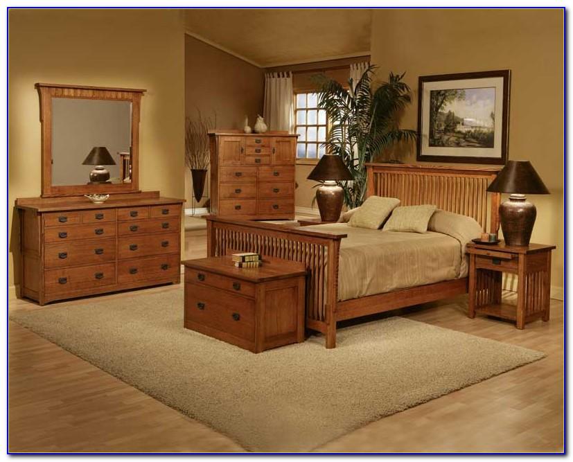Ashley Mission Style Bedroom Set