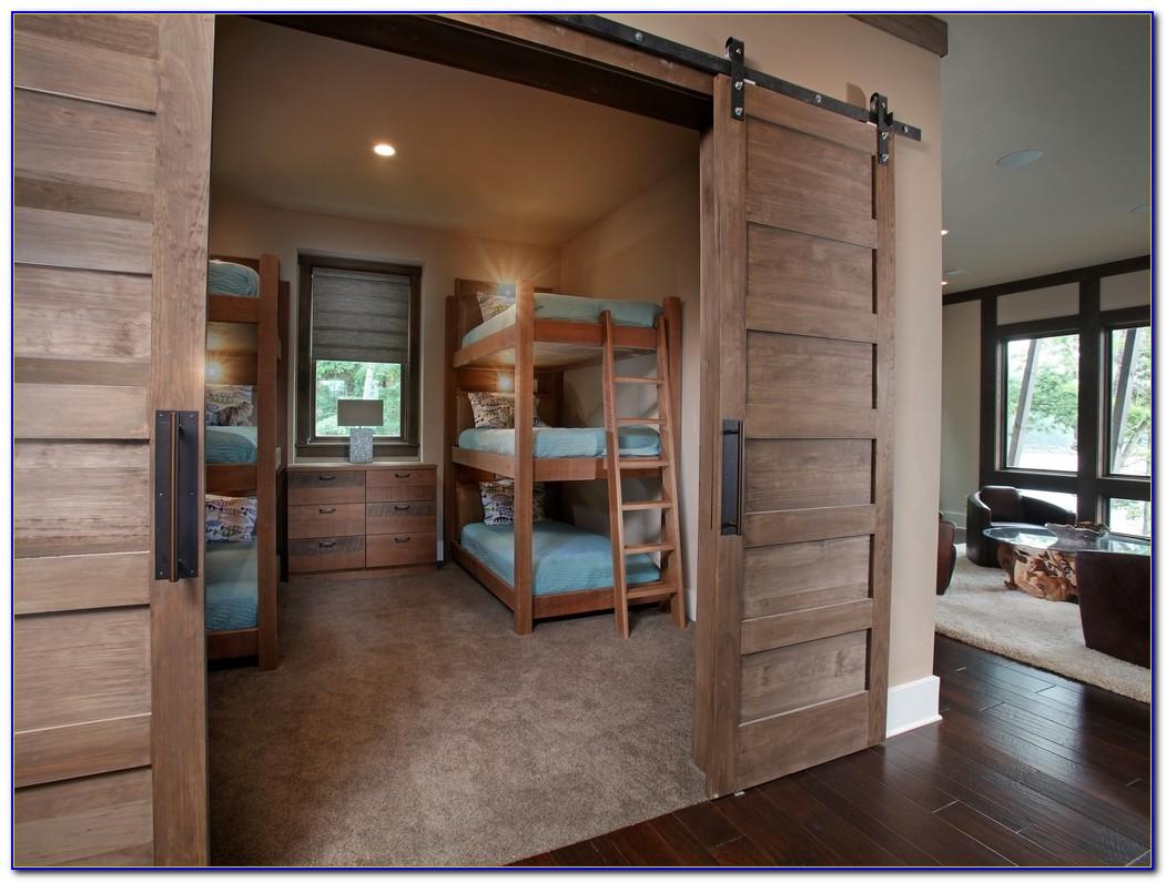 Barn Door Bedroom Set