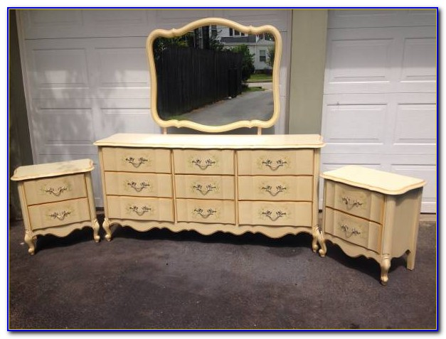 Bassett French Provincial Bedroom Set