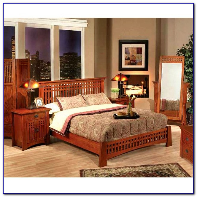 Bassett Mission Style Bedroom Set