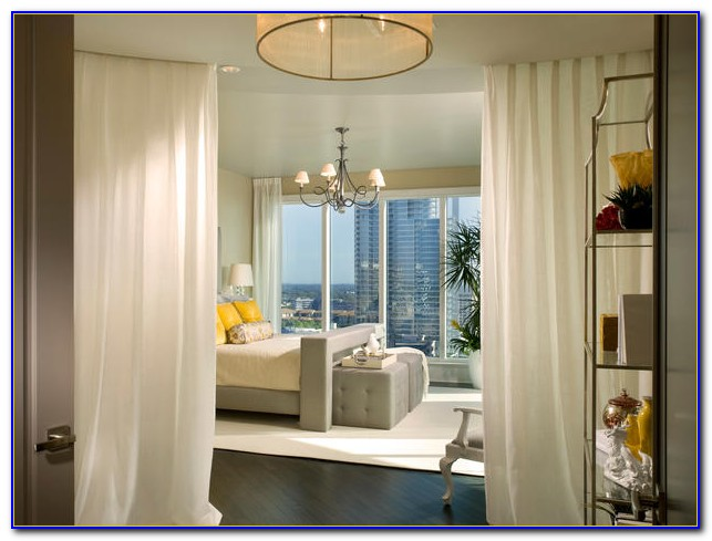 Bedroom Bay Window Treatment Ideas